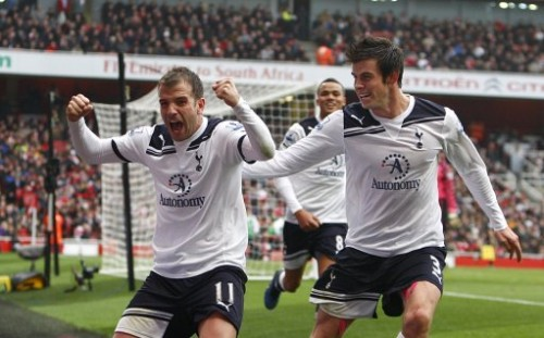 Bale Van der Vaart e1317737589985 Tottenham Taking Over North London