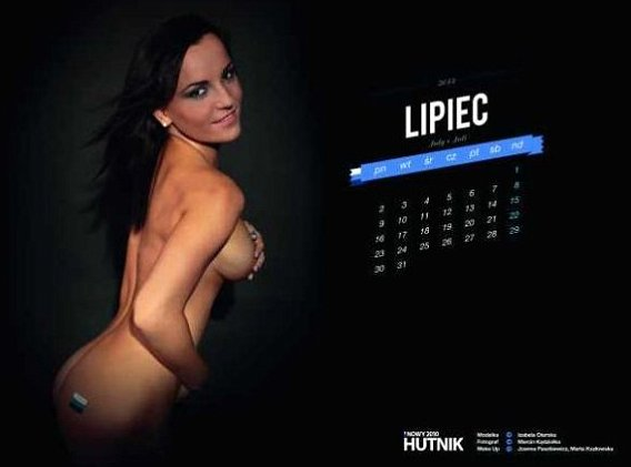 Hutnik Calender Hot Girls Get Naked to Help Hutnik Krakow