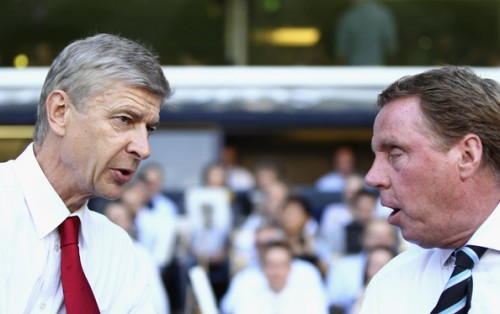 Wenger Redknapp e1317737350760 Tottenham Taking Over North London