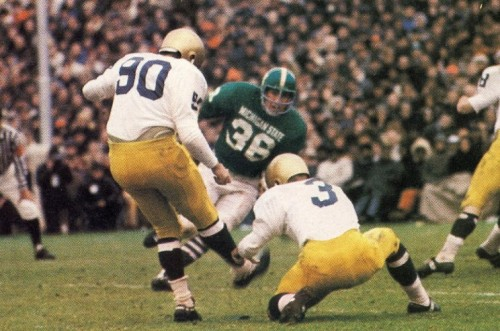 Notre Dame vs Michigan State e1320233167496 LSU   Alabama Game of the Century Predecessors