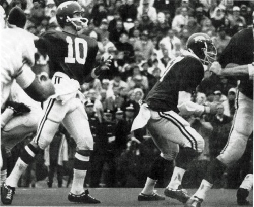 Texas vs Arkansas e1320233836351 LSU   Alabama Game of the Century Predecessors