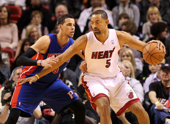 Juwan Howard Top Ten Oldest Players in the NBA, Heading into 2011 2012