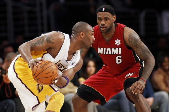 Lebron james kobe bryant Best Christmas Day Games by NBA Players