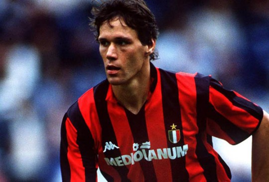 Marco Van Basten e1323425574165 The Champions League Four Goals Club