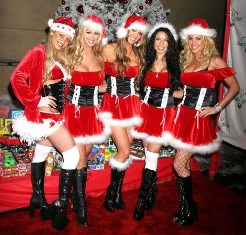 Naughty Santas e1324570178755 The Christmas Babes Special