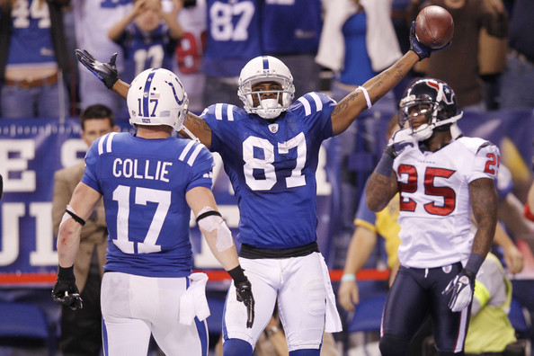 Reggie Wayne Everything Changes for Colts, Manning and Luck With Wayne TD