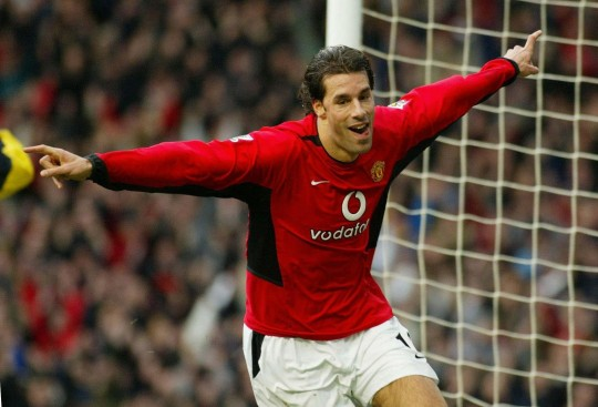 Ruud van Nistelrooy e1323426625790 The Champions League Four Goals Club
