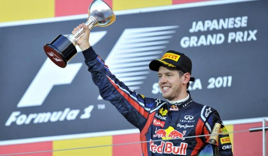 Sebastian Vettel1 e1323966481406 Athletes of the Year   2011 Edition