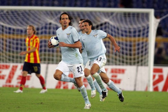 Simone Inzaghi e1323425918466 The Champions League Four Goals Club