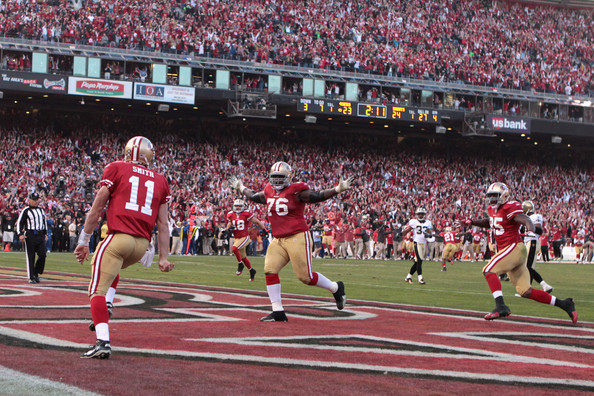 49ers touchdown Saints vs 49ers   Alex Smith Rules Epic Fourth Quarter
