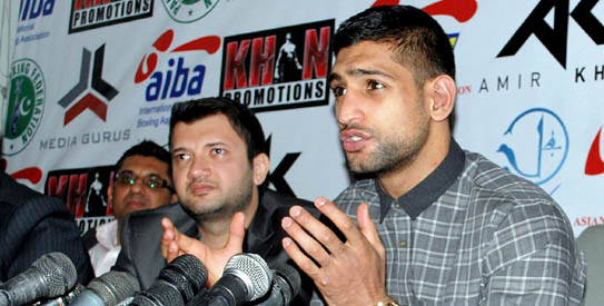 Amir Khan Amir Khan Begins War of Words With Peterson too Soon