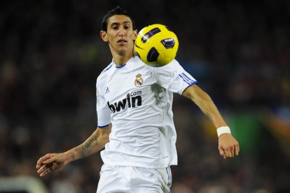 Angel di Maria e1326794015132 Best Wingers/Supporting Strikers in the World   2012 Edition