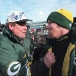 Favre Holmgren 150x150 Great Quarterback   Head Coach duos in NFL History