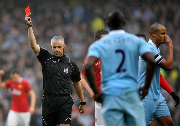 Foy Kompany Bad Refereeing Cant Ruin Fantastic Manchester Derby
