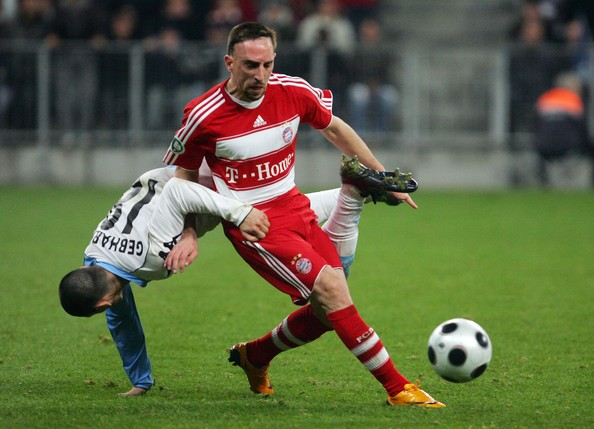 Franck Ribery Best Wingers/Supporting Strikers in the World   2012 Edition