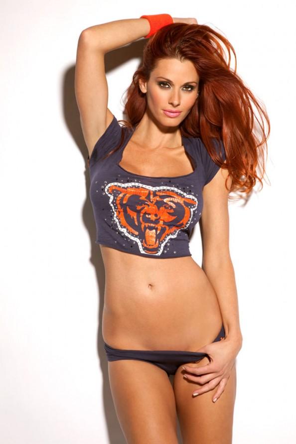 Jaime Edmondson Chicago Bears e1326018505601 Jaime Edmondson in the Ultimate NFL Babe Gallery