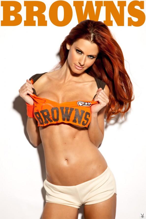 Jaime Edmondson Cleveland Browns e1326018690353 Jaime Edmondson in the Ultimate NFL Babe Gallery