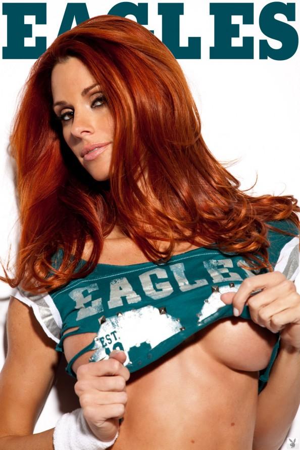 Jaime Edmondson Philadelphia Eagles e1326020093879 Jaime Edmondson in the Ultimate NFL Babe Gallery