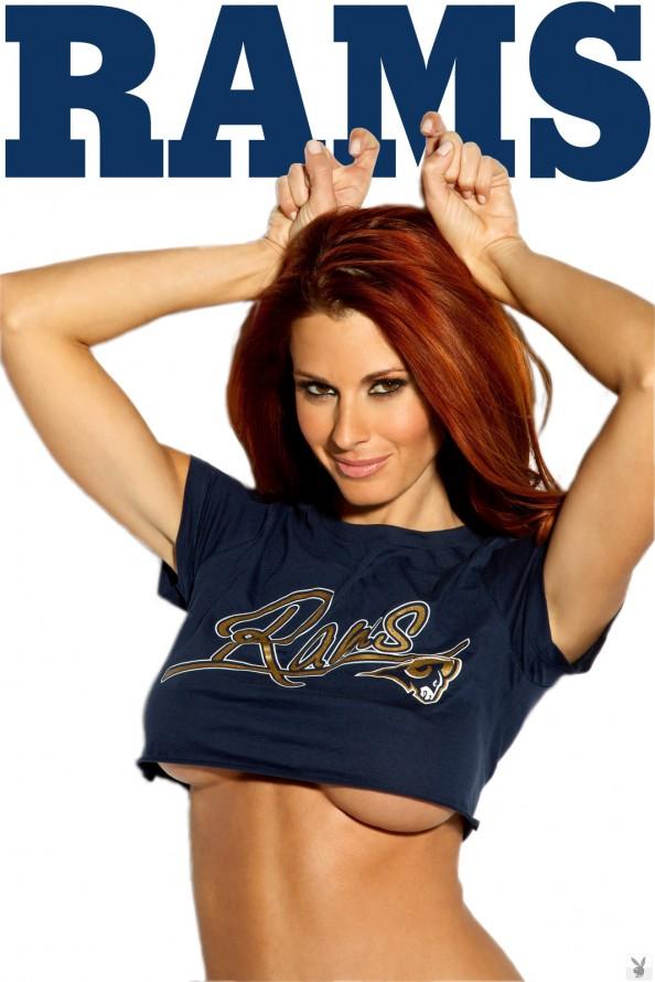 Jaime Edmondson St. Louis Rams e1326020478621 Jaime Edmondson in the Ultimate NFL Babe Gallery