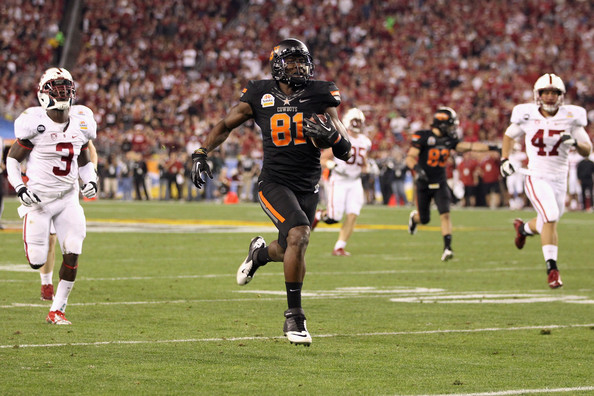 Justin Blackmon Oklahoma State and Oregon Deserved Fiesta Bowl and Rose Bowl Glory