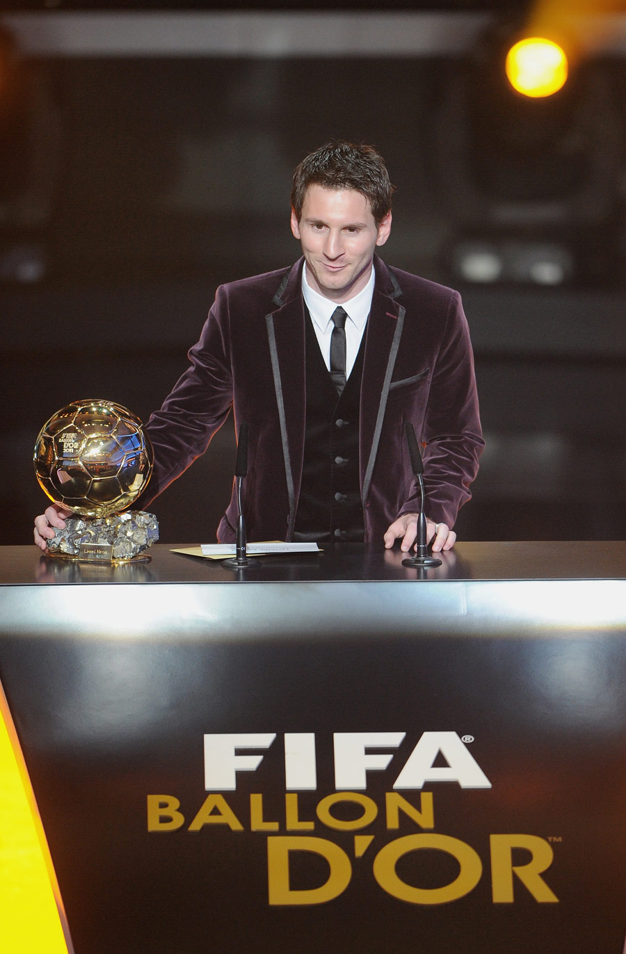 Another FIFA Ballon DOr For Lionel Messi