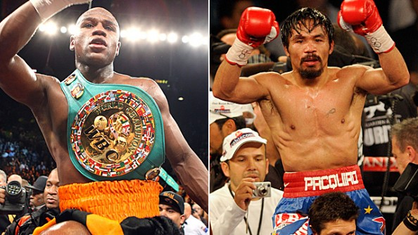 Pacquiao vs Mayweather e1326288597411 Mayweather vs Pacquiao   Twists and Turns