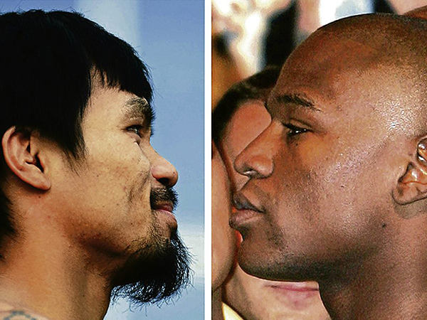 pacquiao Mayweahter Mayweather vs Pacquiao   The Phone Call