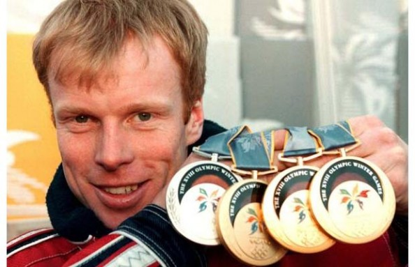Bjørn Dæhlie e1329746827309 Athletes With the Most Olympic Gold Medals in History