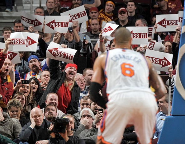 Cavs Fans e1329495357588 Awesome Ways to Distract Free Throw Shooters