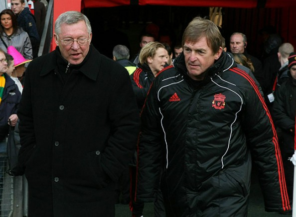 Dalglish Ferguson e1328692207261 Manchester United vs Liverpool   Dalglish and Ferguson Heating it Up