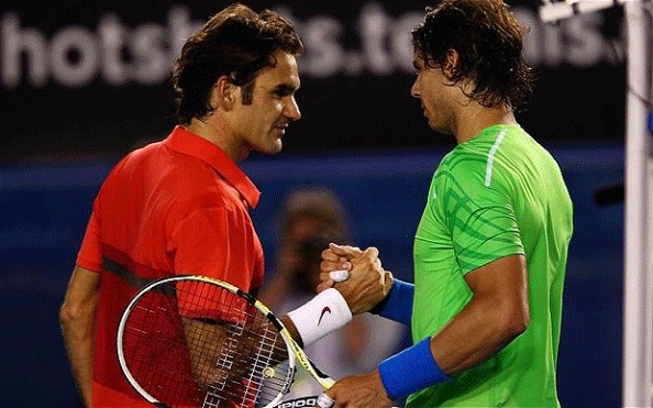 Federer Nadal e1329233885635 Roger Federer Wont be Number One Again