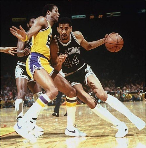 George Gervin e1328792074114 NBA Franchises All Time Leading Scorers