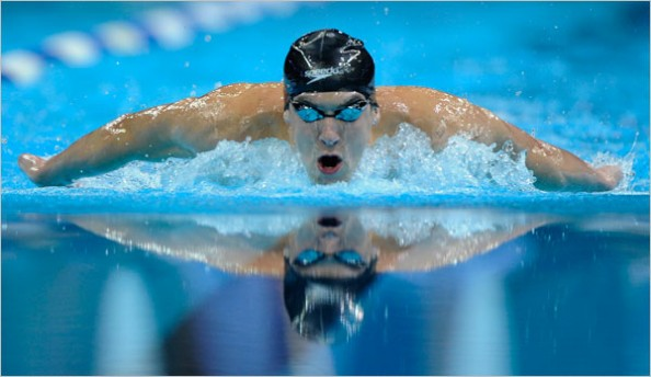Michael Phelps e1329749221636 Athletes With the Most Olympic Gold Medals in History
