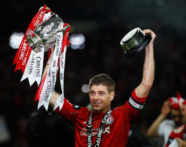Steven Gerrard When the Carling Cup Does Matter