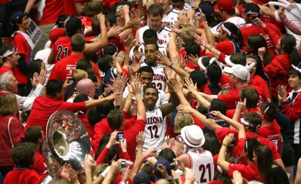 Arizona Wildcats Basketball e1331643209758 The Most Valuable College Basketball Teams