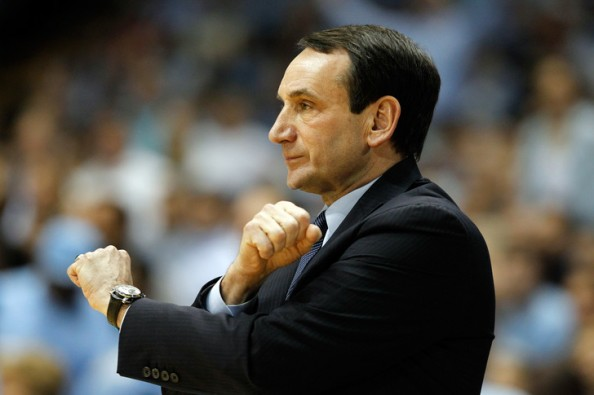 Coach K e1331644259872 The Most Valuable College Basketball Teams