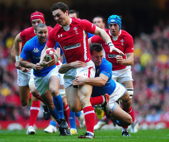 George North One More Left For the Grand Slam (Wales vs Italy)