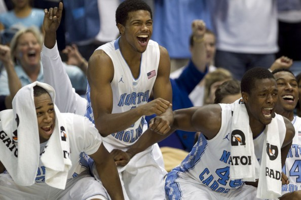 North Carolina Basketball players e1331644799493 The Most Valuable College Basketball Teams