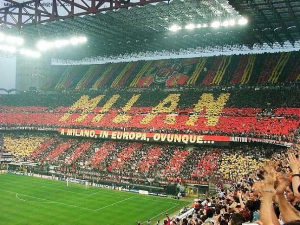 AC Milan Fans e1334838170821 The Most Valuable Soccer Teams in the World