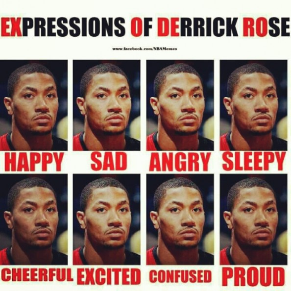 Expressions of Derrick Rose e1334835592843 Dont Worry About Derrick Rose