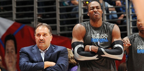 Howard Van Gundy e1333698327865 Can it Get Any Worse For the Orlando Magic in Stan Van Gundy   Dwight Howard Saga?