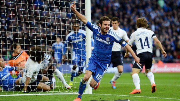 Juan Mata Chelsea Humiliate Tottenham; Goal Line Technology Was Needed Again