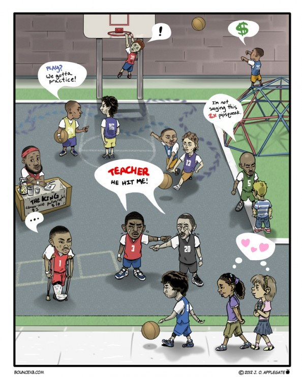 NBA Babies e1335370166602 Best NBA Comics Ever?