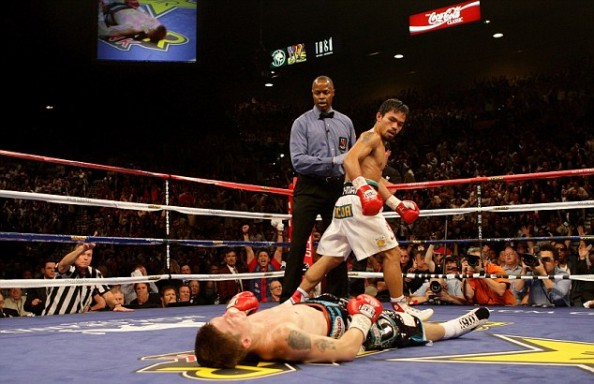 Pacquiao Hatton e1335638617522 9 Fighters Getting Knocked the F&*^ Out