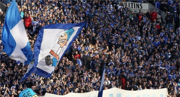 Schalke 04 Fans e1334837134705 The Most Valuable Soccer Teams in the World