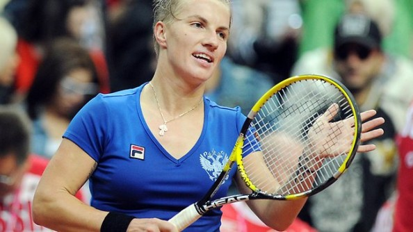 Svetlana Kuznetsova e1335277294651 Svetlana Kuznetsova Fails to Notice She Beat Ana Ivanovic