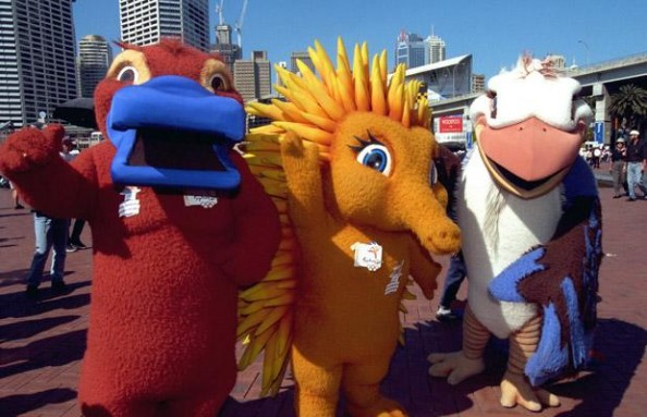 Sydney 2000 Mascots e1335183174602 The History of the Olympic Mascots