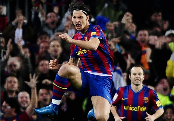 Zlatan Ibrahimovic e1334999397614 Barcelona vs Real Madrid   All the Clasico Matches During the Guardiola & Mourinho Era