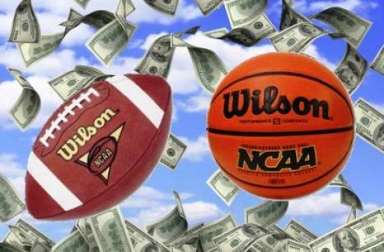 NCAA Money e1337687518451 How Much Money do the Big College Football Schools Get?