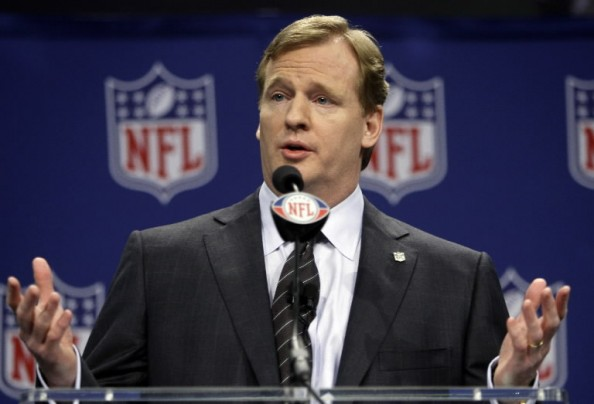 Roger Goodell e1336478920583 Roger Goodell, Against or With the NFL Players?